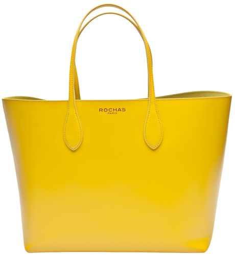 Rochas Borsa Tote in Yellow - Lyst