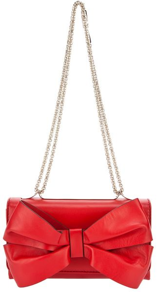 Valentino Bow Detail Bag - Lyst