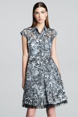 McQ by Alexander McQueen Rockabilly Printed Dress - Lyst