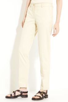 Michael Kors Samantha Stretch Gabardine Pants - Lyst