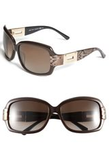 Jimmy Choo Square Sunglasses - Lyst