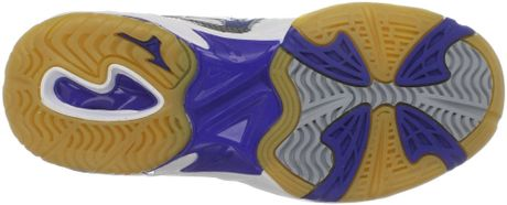 Mizuno whiteroyal mizuno womens wave rally 2 volleyball shoe product 3