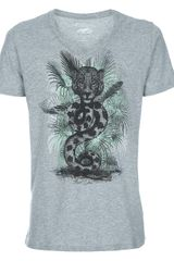 Paul & Joe Printed T-shirt - Lyst