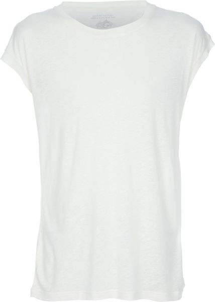 Paul & Joe Silk Blend Tshirt in White for Men - Lyst