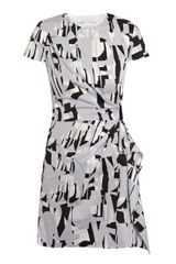 Diane Von Furstenberg Alba Two Mini Dress - Lyst