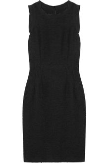 Dolce & Gabbana Bouclé Wool-blend Dress - Lyst