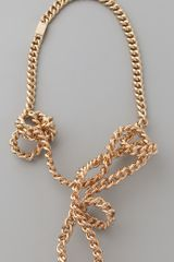 Maison Martin Margiela Twisted Necklace - Lyst