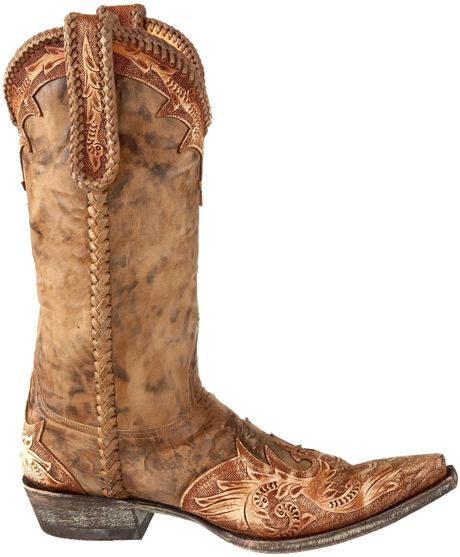 old gringo mens diaz boot in brown for men tabac galaxia
