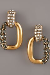 Oscar de la Renta Link Earrings - Lyst