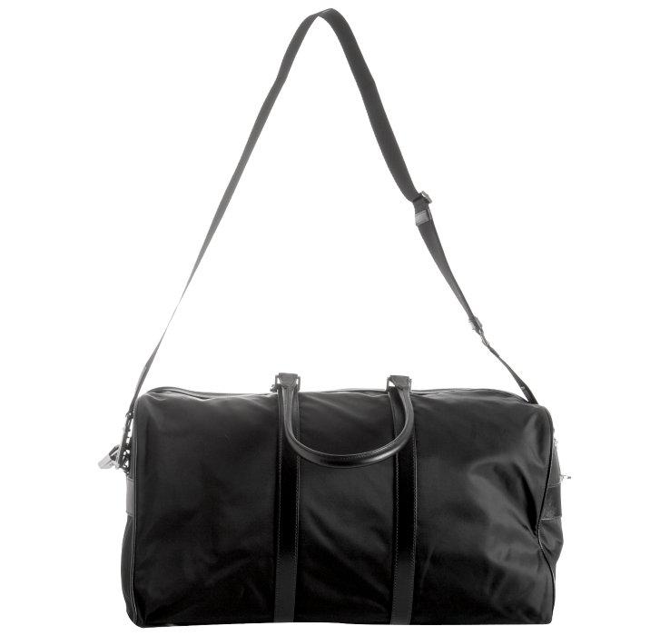 prada black bag nylon
