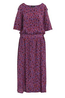 Suno Silk-twill Onion-skin Print Dress - Lyst