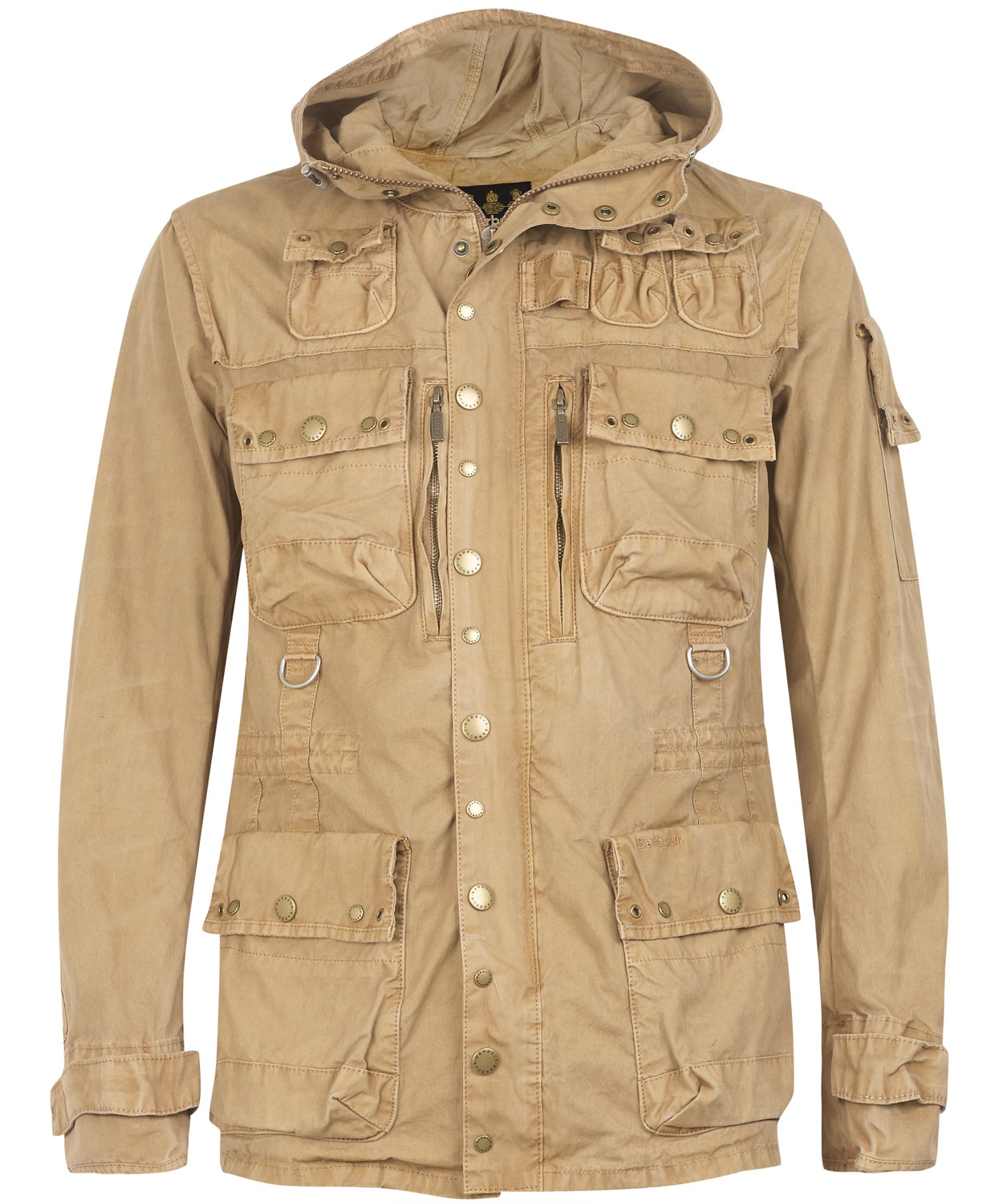 Lyst Barbour Vintage Cotton Hunting Jacket In Natural