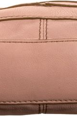 Fossil Maddox Twistlock Cross Body in Pink - Lyst