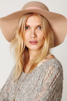 Free People Jane Wide Brim Hat