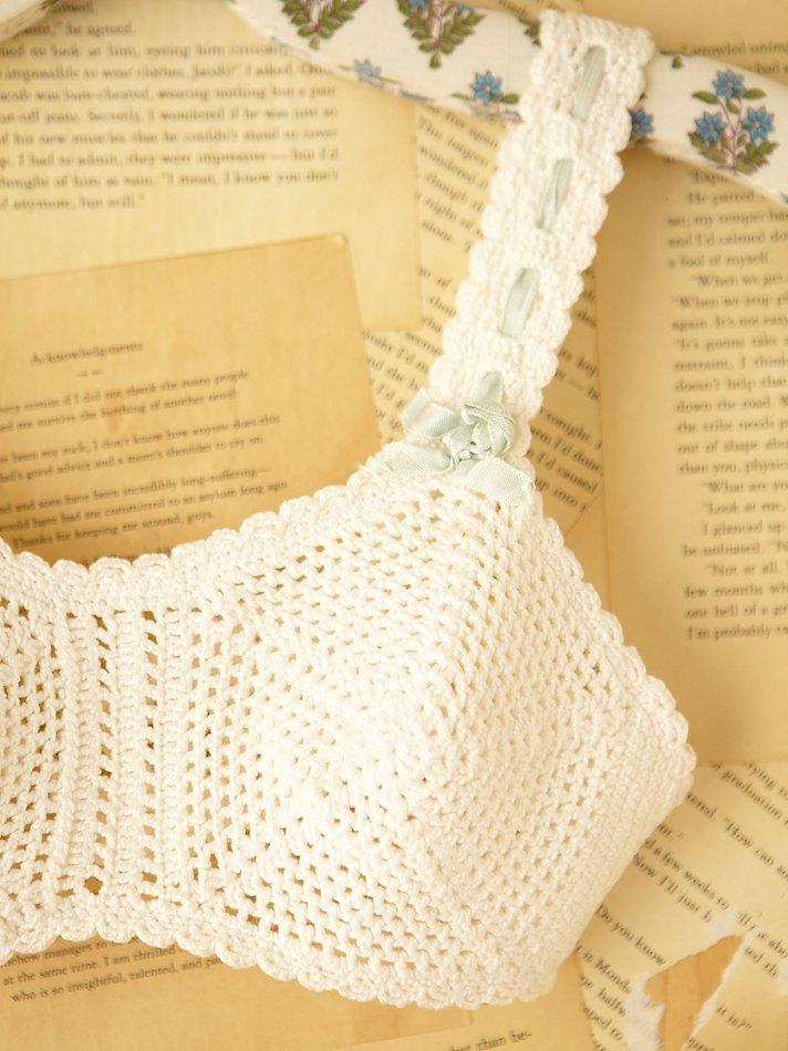 Lyst Free People Vintage Crochet Bralette In White