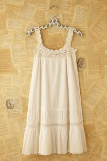 Free People Vintage Victorian Slip Dress - Lyst