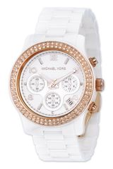Michael by Michael Kors Michael Kors Runway Ceramic Watch - Lyst