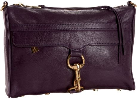 Rebecca Minkoff Mac Clutch in Purple (amethyst) - Lyst