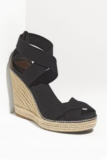 Tory Burch Elastic High Wedge Espadrille - Lyst