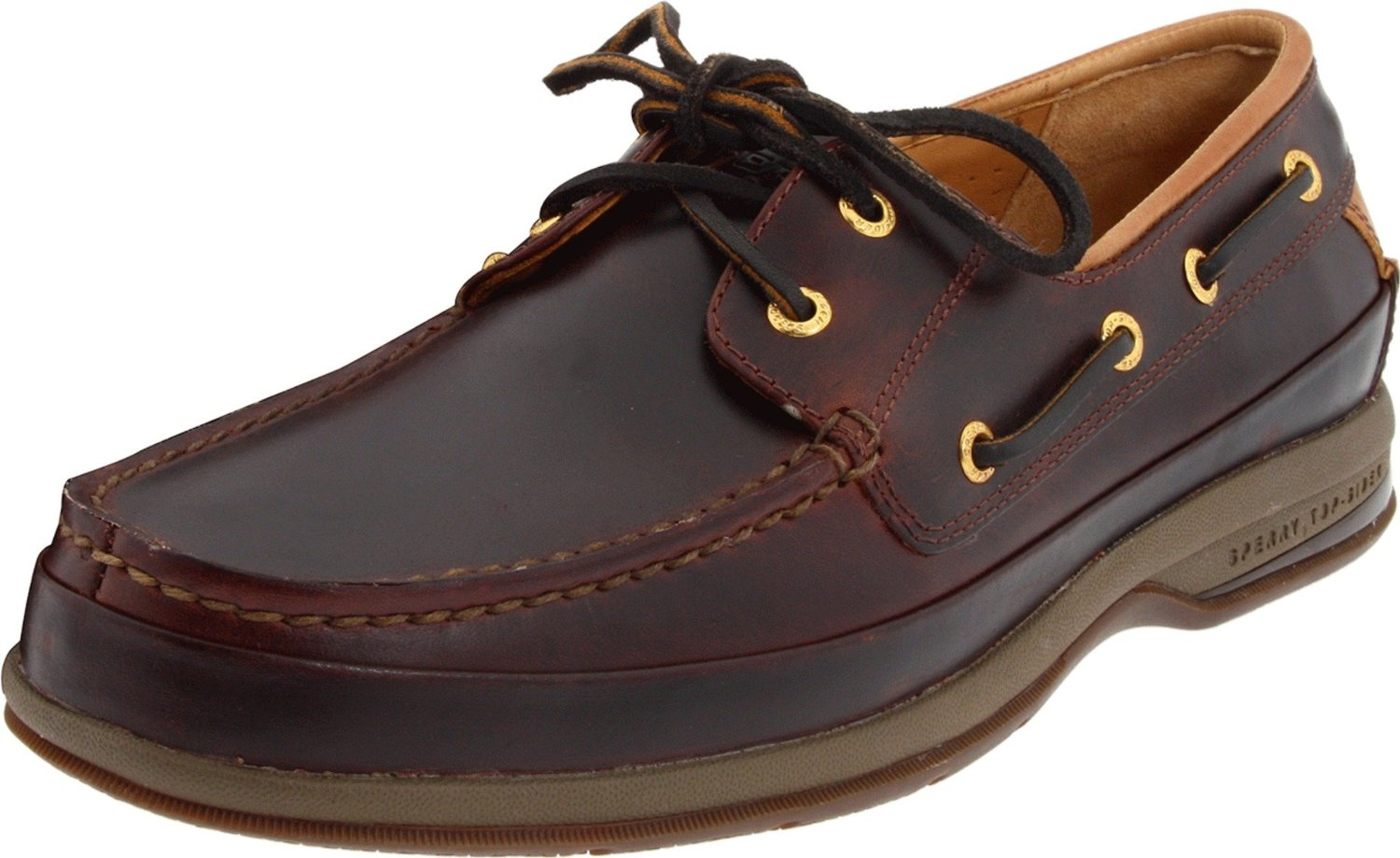 Brown Polo Boat Shoes