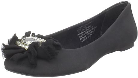 Tommy Hilfiger Womens Heather Ballet Flat in Black