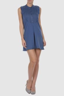 Paolo Pecora Short Dress - Lyst