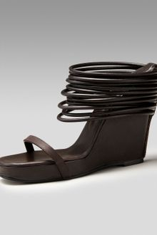 Rick Owens Ringed Wedge Slide - Lyst