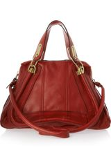 Chloé Paraty Medium Leather Shoulder Bag - Lyst