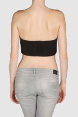 Dsquared2 Dsquared2  Tube Tops in Black - Lyst