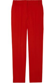 Gucci Cropped Stretch Wool-Blend Pants - Lyst
