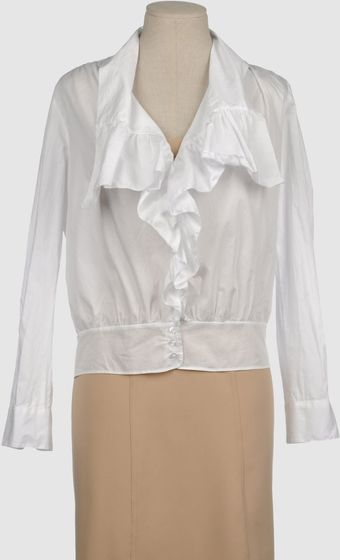 Hoss Intropia Long Sleeve Shirt - Lyst