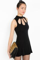 Nasty Gal Emma Cutout Dress - Lyst