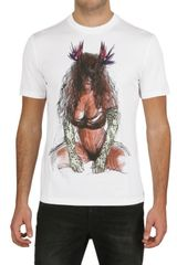 Givenchy Pin Up Printed Jersey Slim Fit T-shirt - Lyst