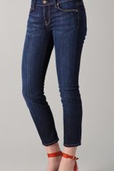 7 For All Mankind Slim Straight Leg Jeans - Lyst