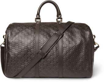 Gucci Joy Ssima Leather Holdall - Lyst