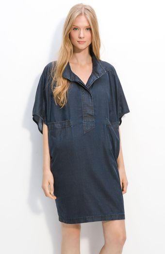 Marc By Marc Jacobs Cecil Oversized Chambray Tunic - Lyst