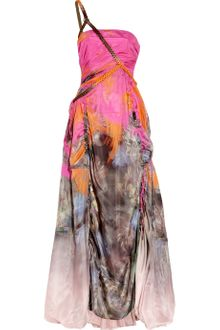 Matthew Williamson Printed Oneshoulder Gown - Lyst