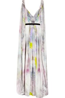 Matthew Williamson Printed Parachute-silk Maxi Dress - Lyst