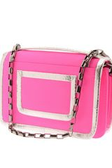 Pierre Hardy Neoprene and Leather Bag in Pink - Lyst
