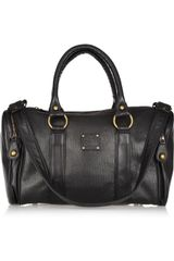 Sara Berman Reggie Perforated-leather Tote - Lyst