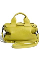 3.1 Phillip Lim Lark  Small Duffle in Green (yellow) - Lyst