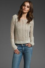 Free People Pop Layer Pullover Sweater - Lyst