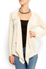 Mango Relaxed-fit Knit Cardigan - Lyst