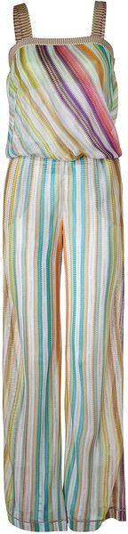 Missoni Mint Multicolor Pastel Jumpsuit - Lyst