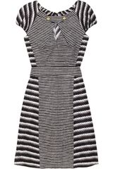 Yves Saint Laurent Printed Cotton and Silk-blend Dress - Lyst