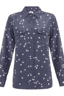 Equipment Signature Stars Silk Shirt - Lyst