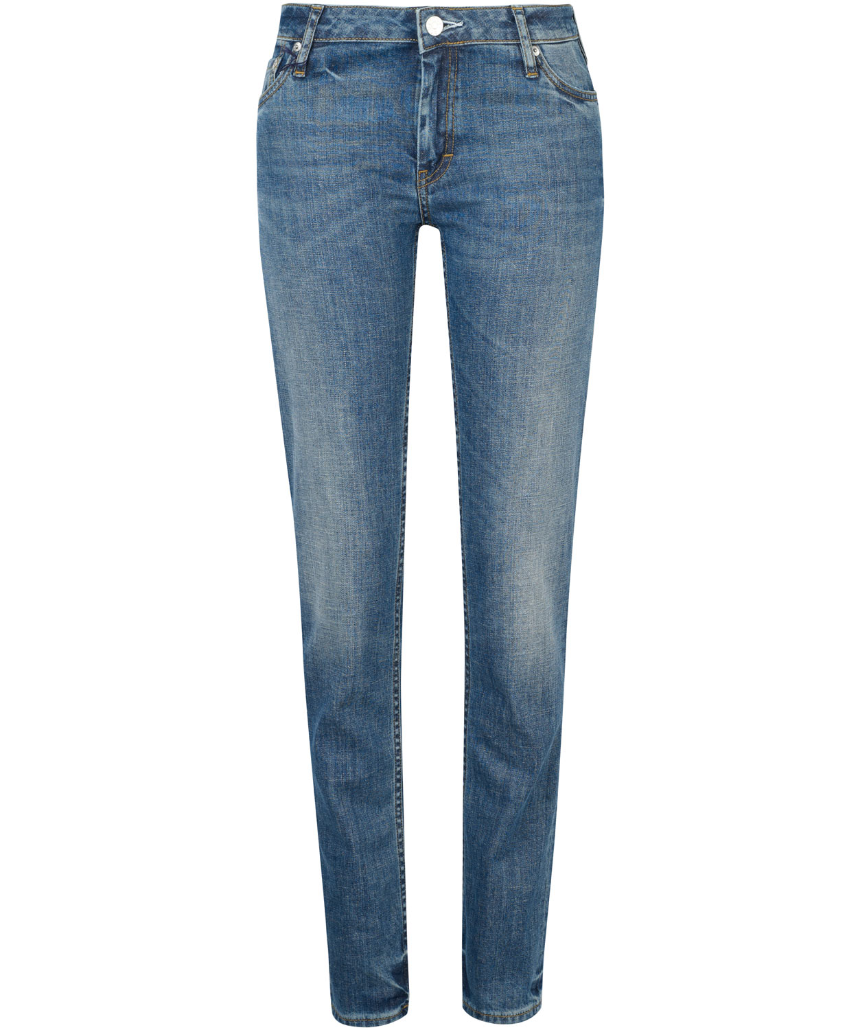 acne studios kex vintage wash skinny jeans in blue lyst. Black Bedroom Furniture Sets. Home Design Ideas