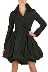 Antonio Croce Water Resistant Nylon Taffeta Trench Coat - Lyst