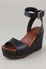 Ash Vanina Wedge Sandals - Lyst