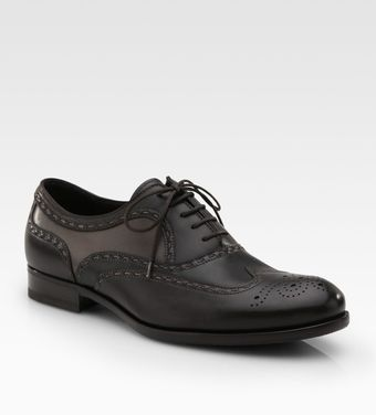 Bottega Veneta Leather Lace-ups - Lyst
